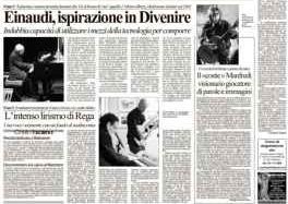 L'Arena di Verona articolo su Ennio Rega